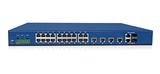 IRS3600机架式全三层百兆工业交换机